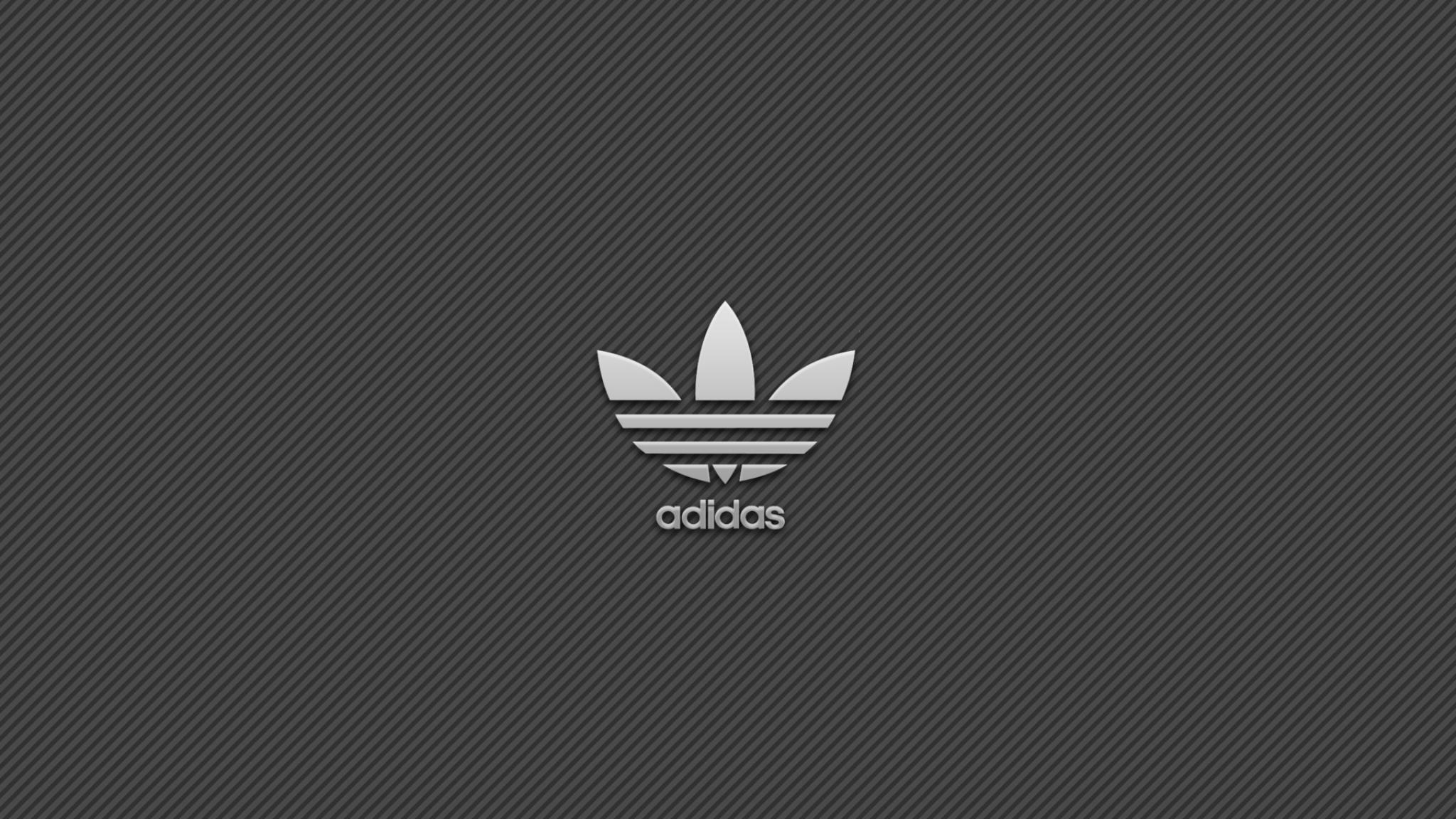 Download Wallpaper 2048x1152 Adidas Brand Logo HD HD 2048x1152
