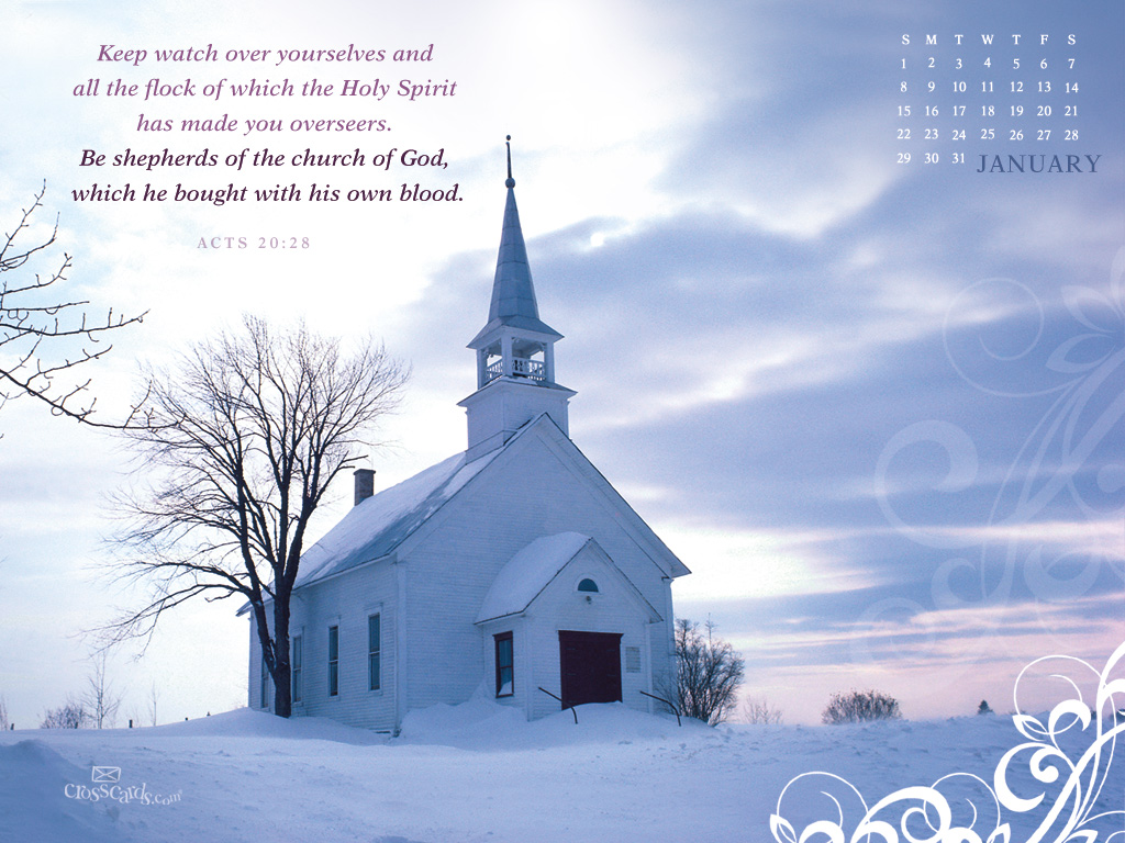 Card Wallpapers January 2012 Christian Calendar Wallpapers 1024x768