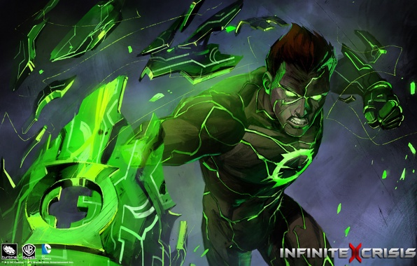 jordan green lantern infinite crisis wallpapers photos pictures 596x380