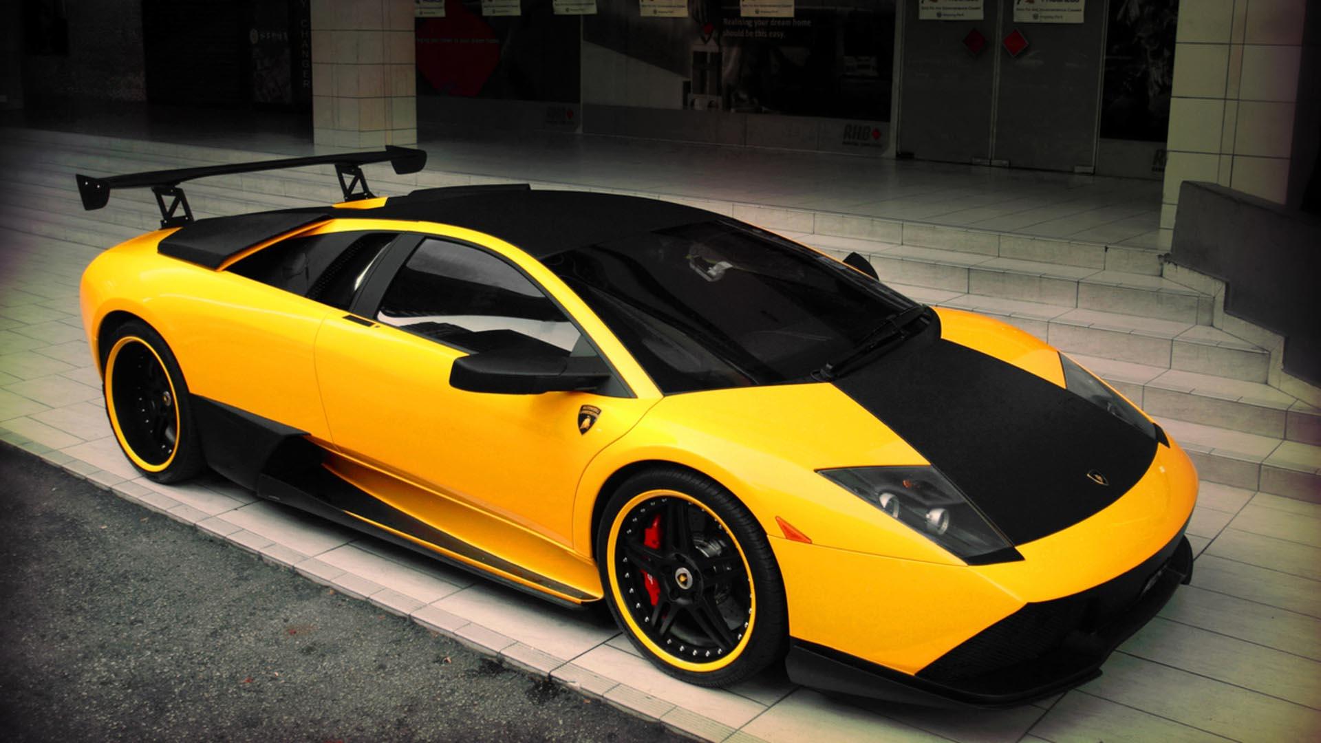 Cool Yellow Lamborghini Wallpaper 35095 1920x1080px 1920x1080