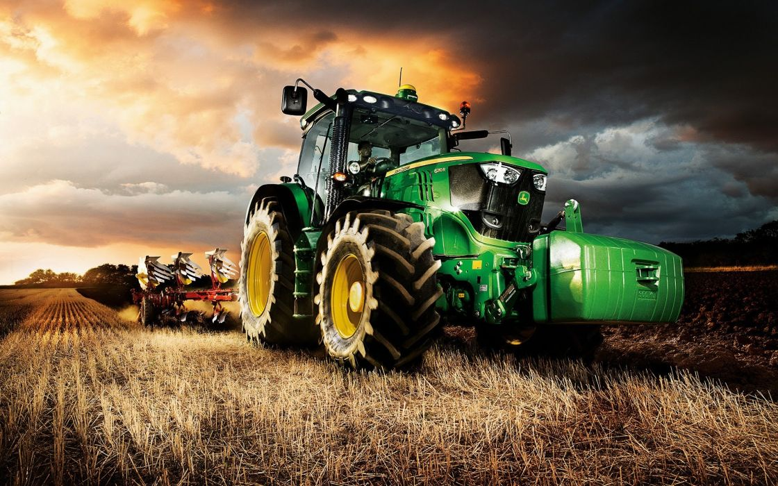 JOHN DEERE tractor farm industrial farming 1jdeere construction 1120x700