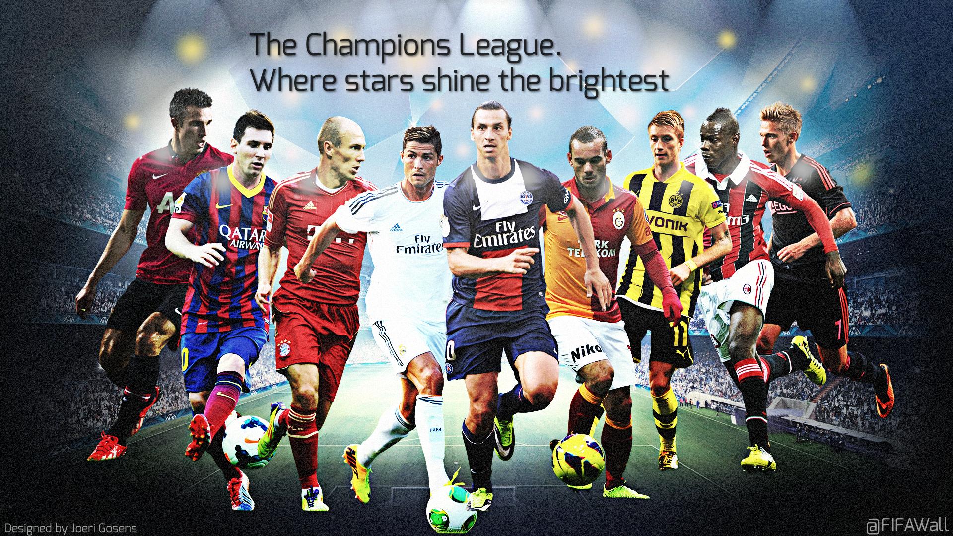 Champions League wallpaper Designed by Joeri Gosens 1920x1080