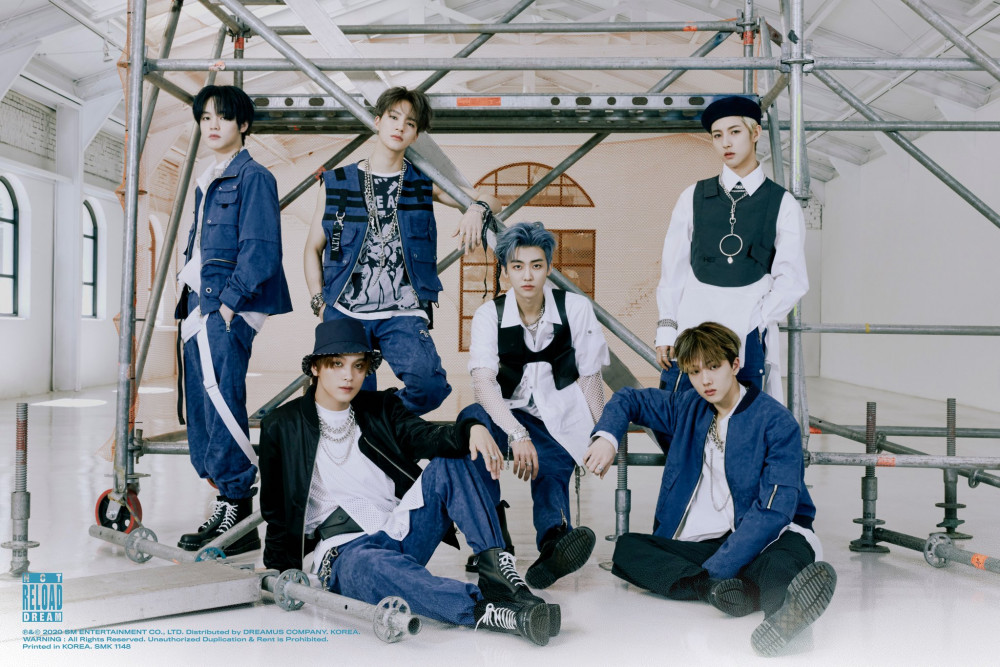 NCT Dream uploads teaser images and release schedule for RELOAD 1000x667