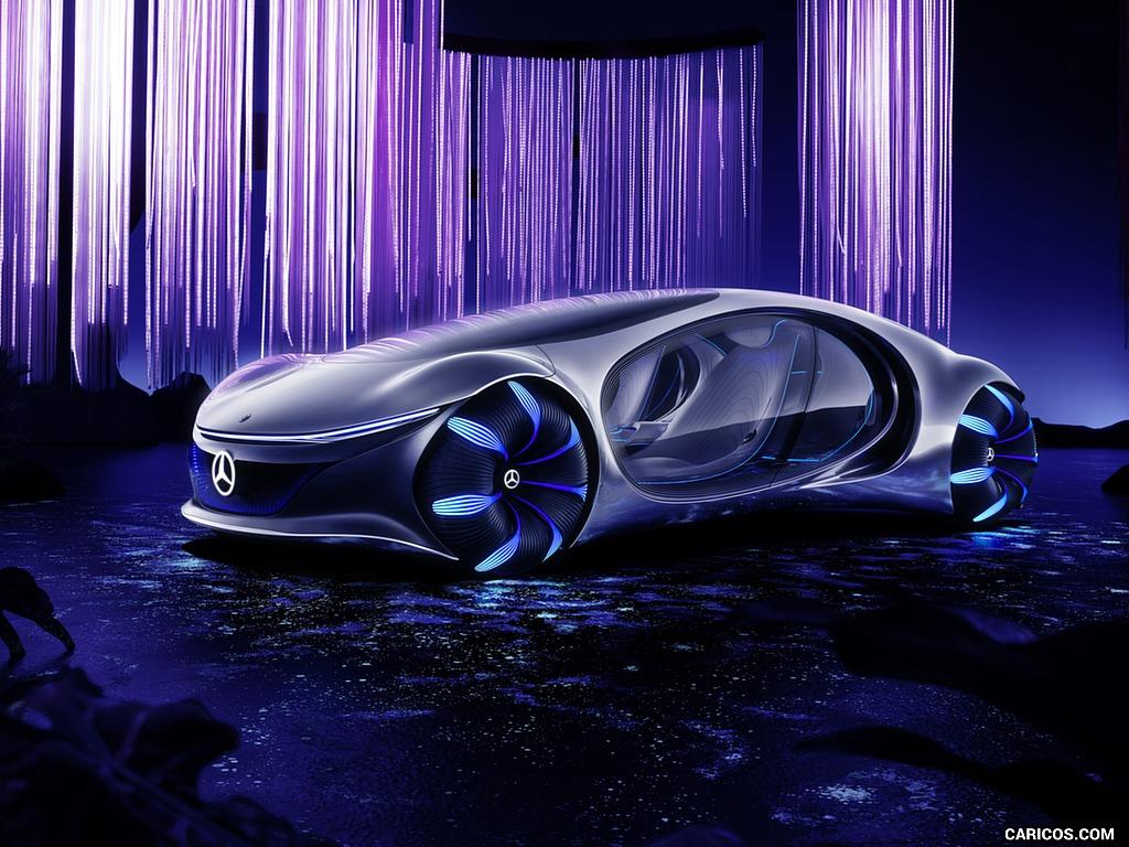 2020 Mercedes Benz VISION AVTR Concept   Front Three Quarter HD 1024x768