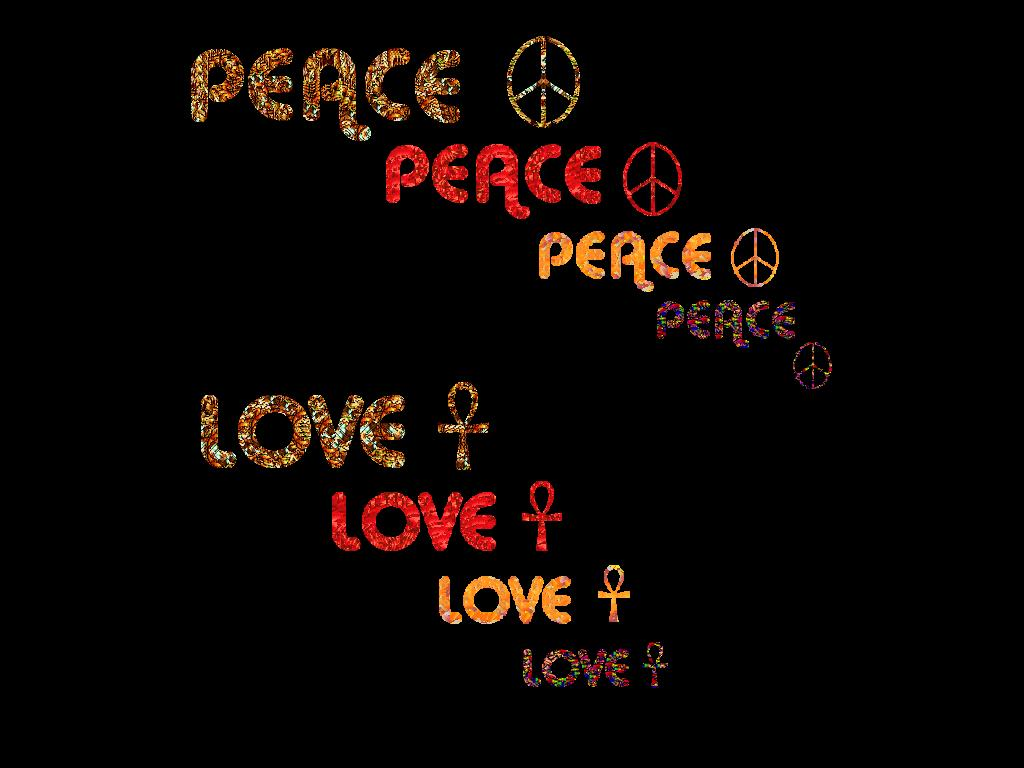Peace And Love Iphone Wallpaper : Peace and Love Wallpaper - WallpaperSafari
