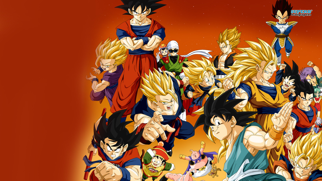 1366x768px Dragon Ball Z Hd Wallpapers Wallpapersafari