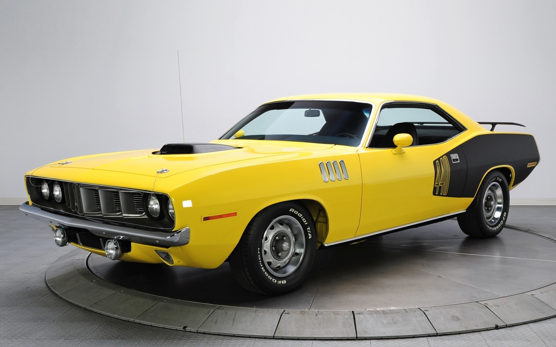 voiture dodge muscle car jaune et noir wallpaper hd car yellow black 1920x1200