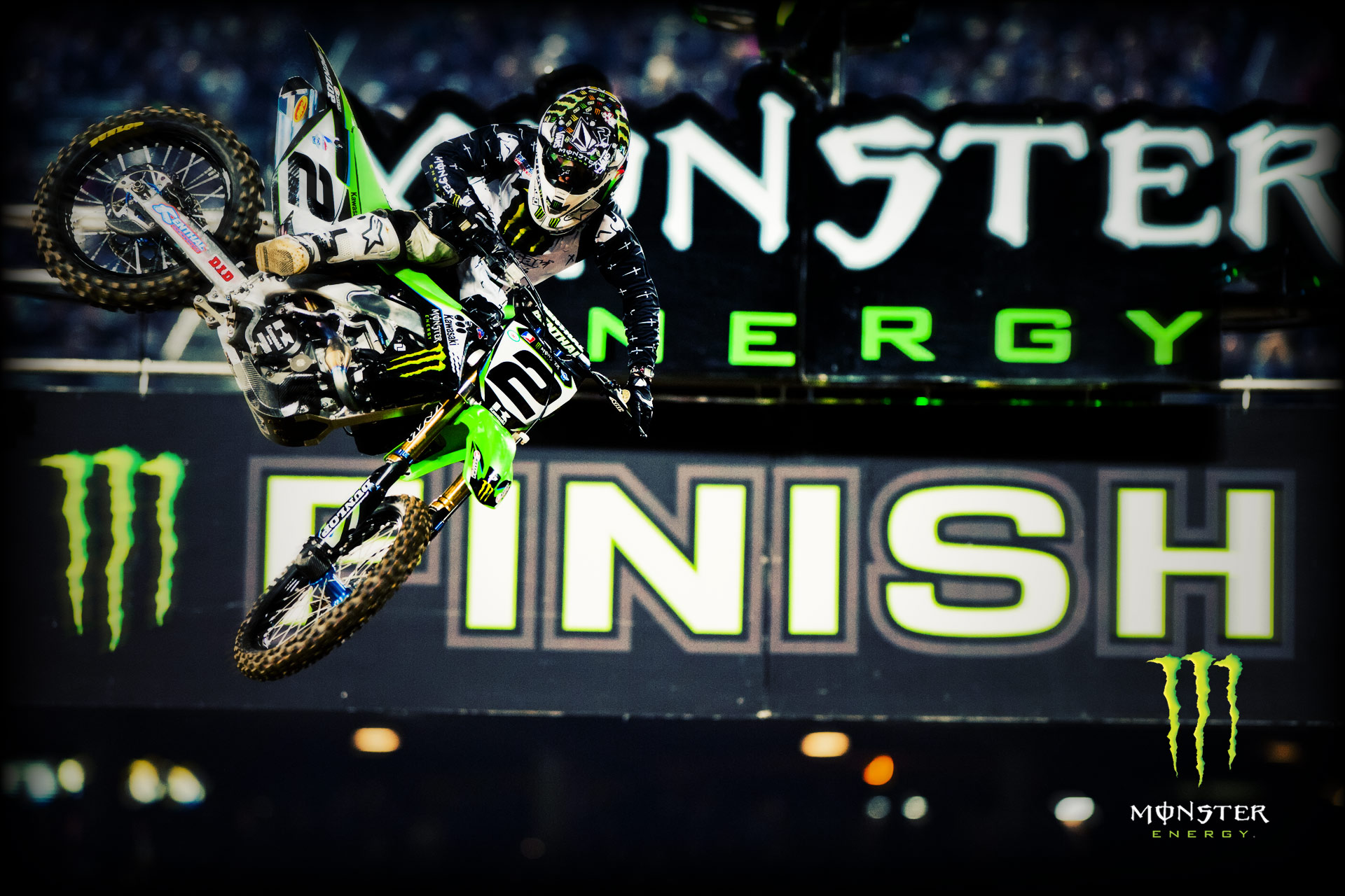 Monster Energy Wallpapers From LA Supercross   Moto Magazine