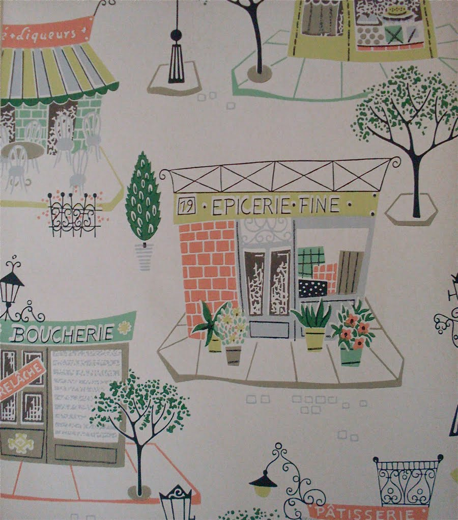 1950s Wallpaper Stores and Farms 900x1021