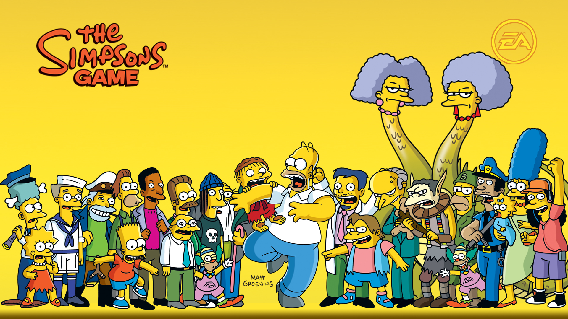 The Simpsons Wallpapers Simpsons Crazy Pictures to pin on 1920x1080