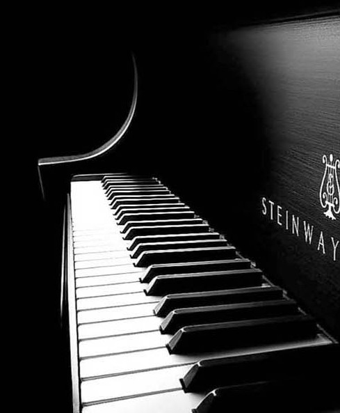 Piano Background Music: Piano Keys Background