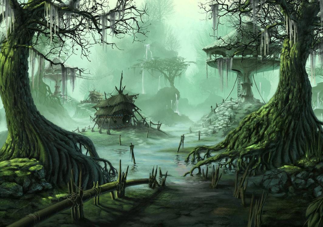 Marfling Swamp   Le Dernier Bastion by SkavenZverov 1064x750