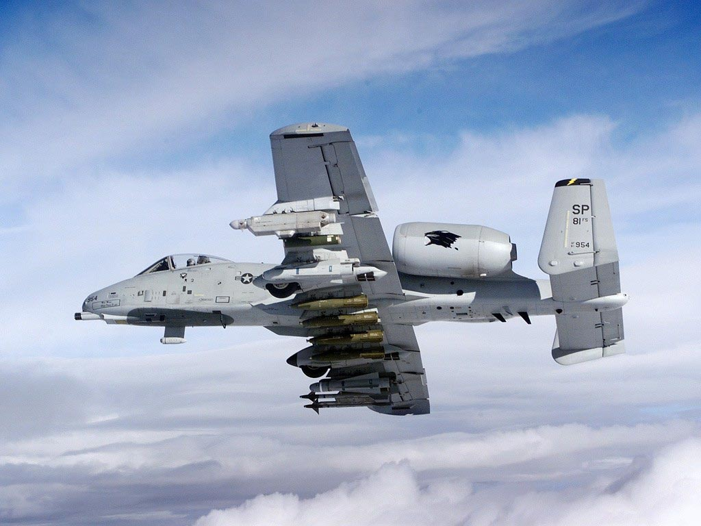 A10 Thunderbolt Warthog Wallpapers 1024x768