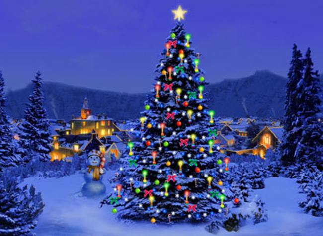 My Home Reference christmas tree wallpapers screensavers My 650x476