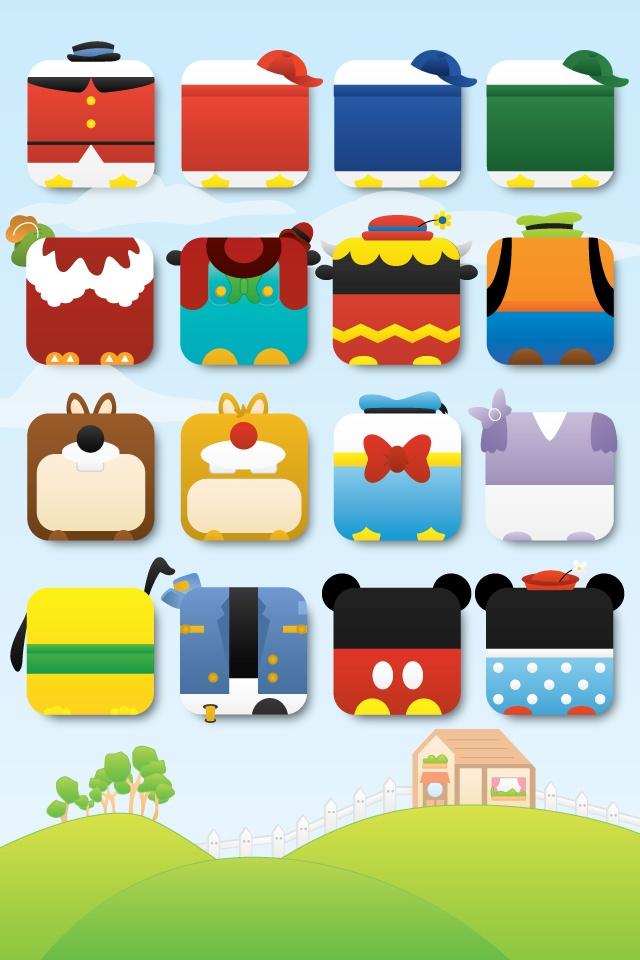 Classic Disney iPhone icons wallpaper Techno Mickey Pinterest 640x960