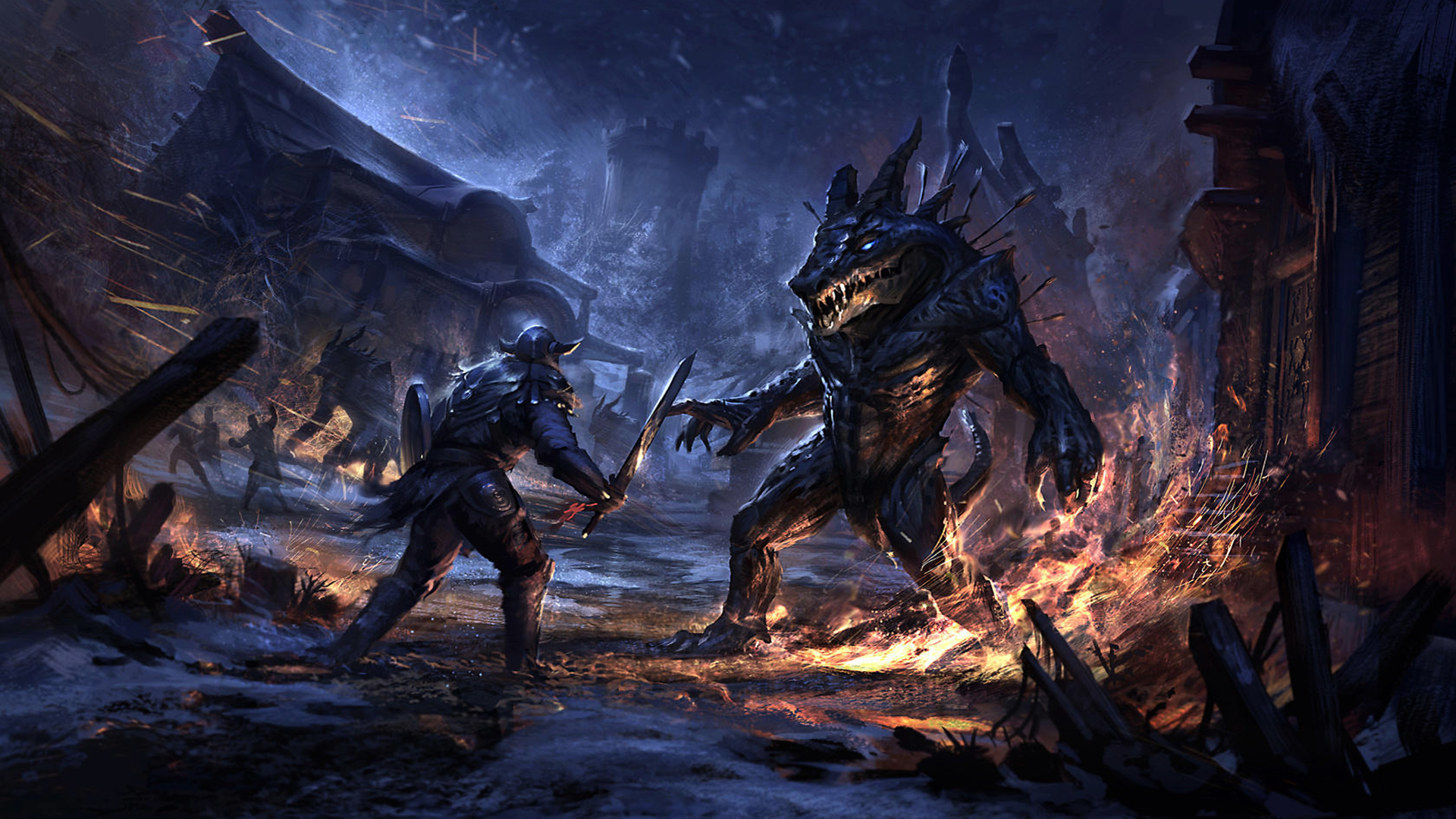 47 Elder Scrolls Online Iphone Wallpaper On Wallpapersafari