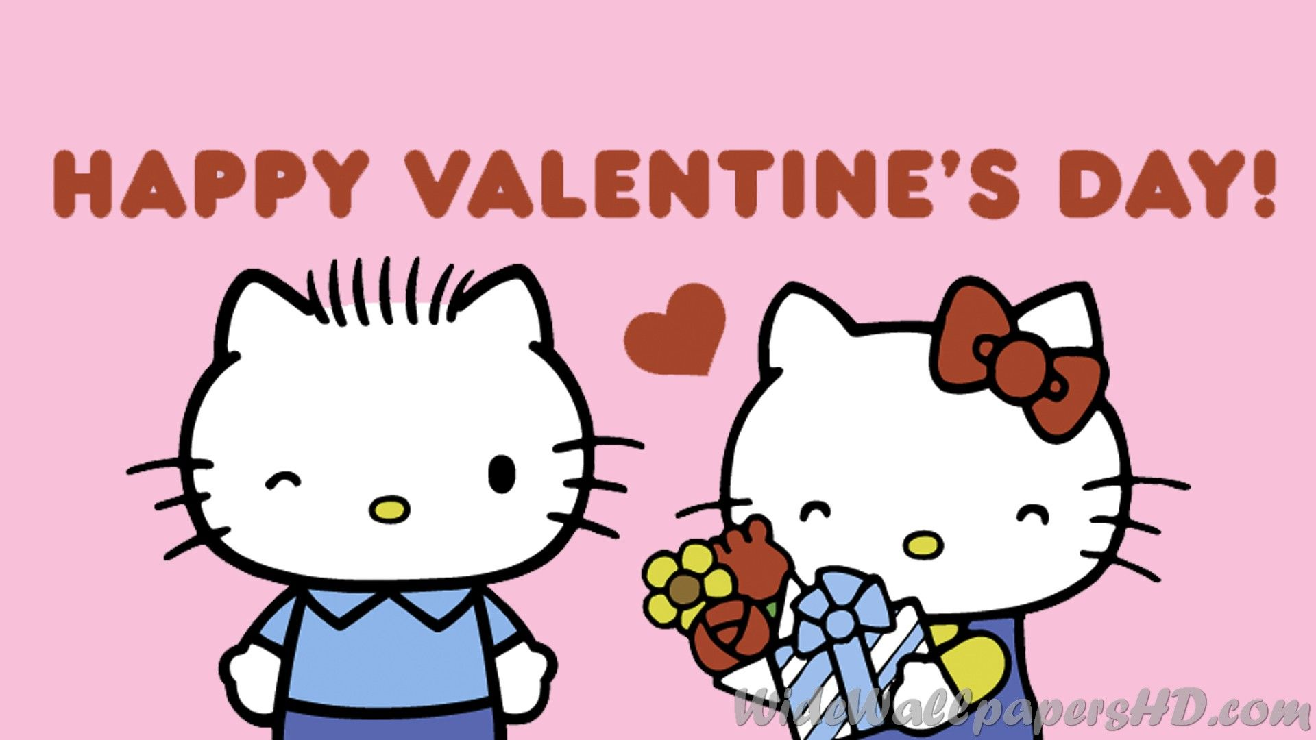 Hello Kitty Valentine Wallpapers 1920x1080