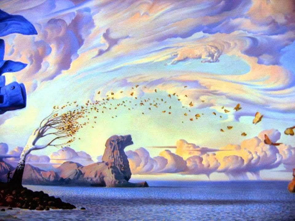 DREAM ZONE Vladimir Kush Paintings Wallpapers 960x720