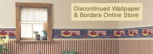 WallUSAcom   discontinued wallpaper borders store 500x178