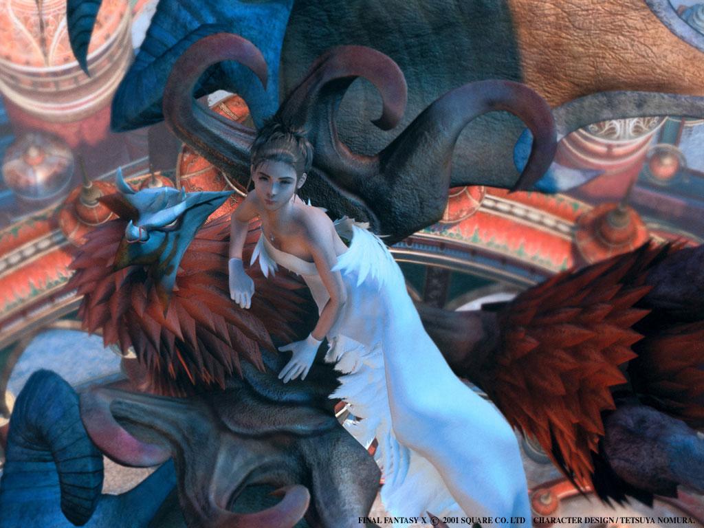 Final Fantasy X Wallpapers   Tidus Yuna Rikku Wakka 1024x768