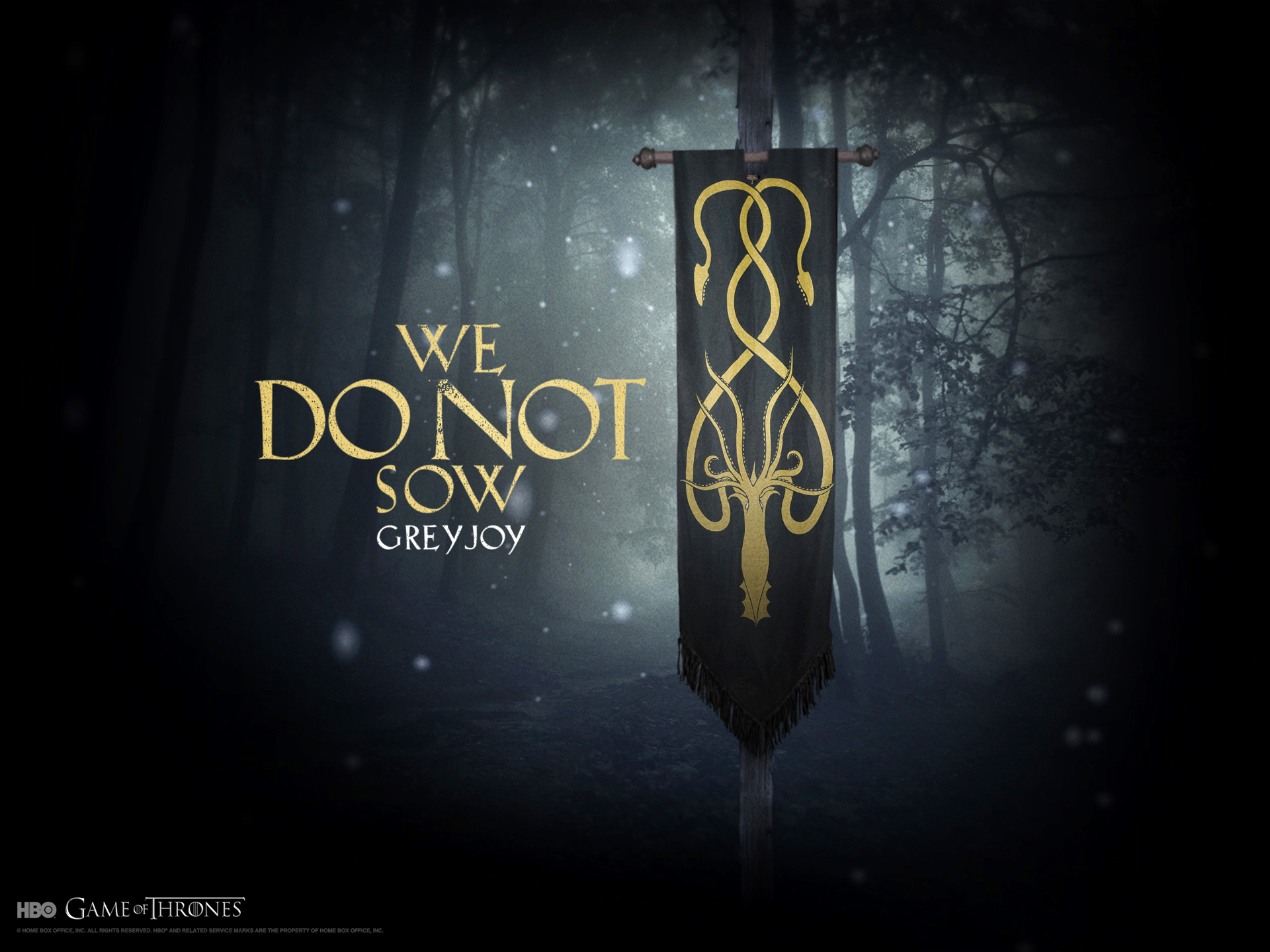 Free Download House Greyjoy Game Of Thrones Achtergrond 21566489