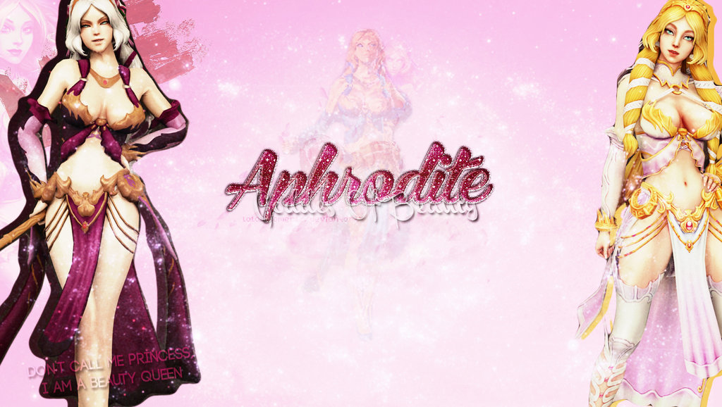 Smite Wallpaper   Aphrodite by LalalaSomers 1024x578