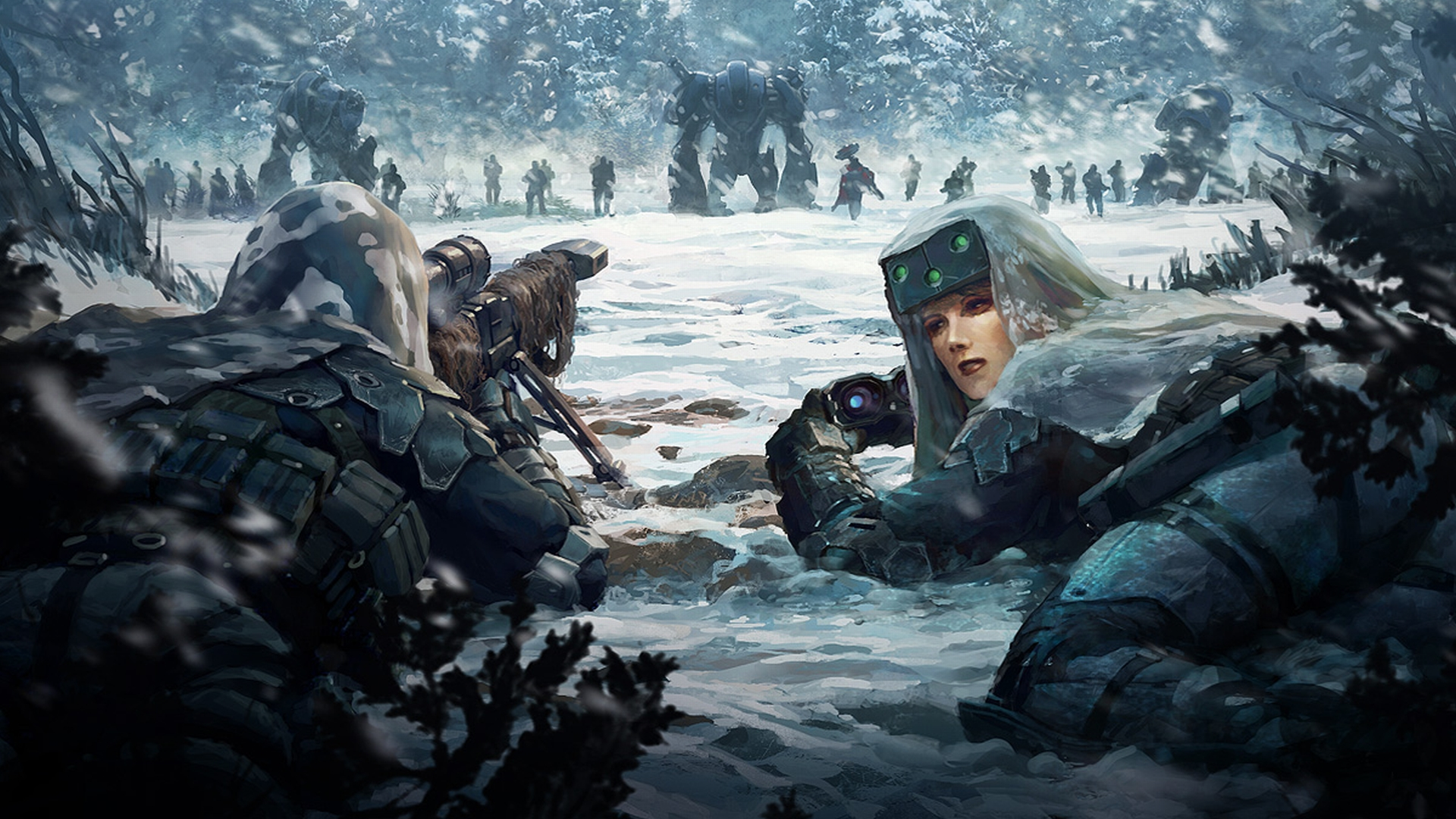 Science Fiction Battle wallpaper   1246125 1920x1080