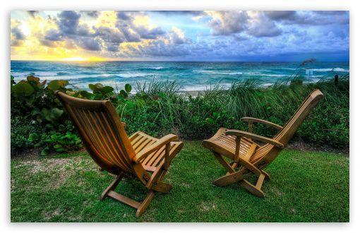 Beach Chair Wallpaper: Free Beach Chair Wallpaper