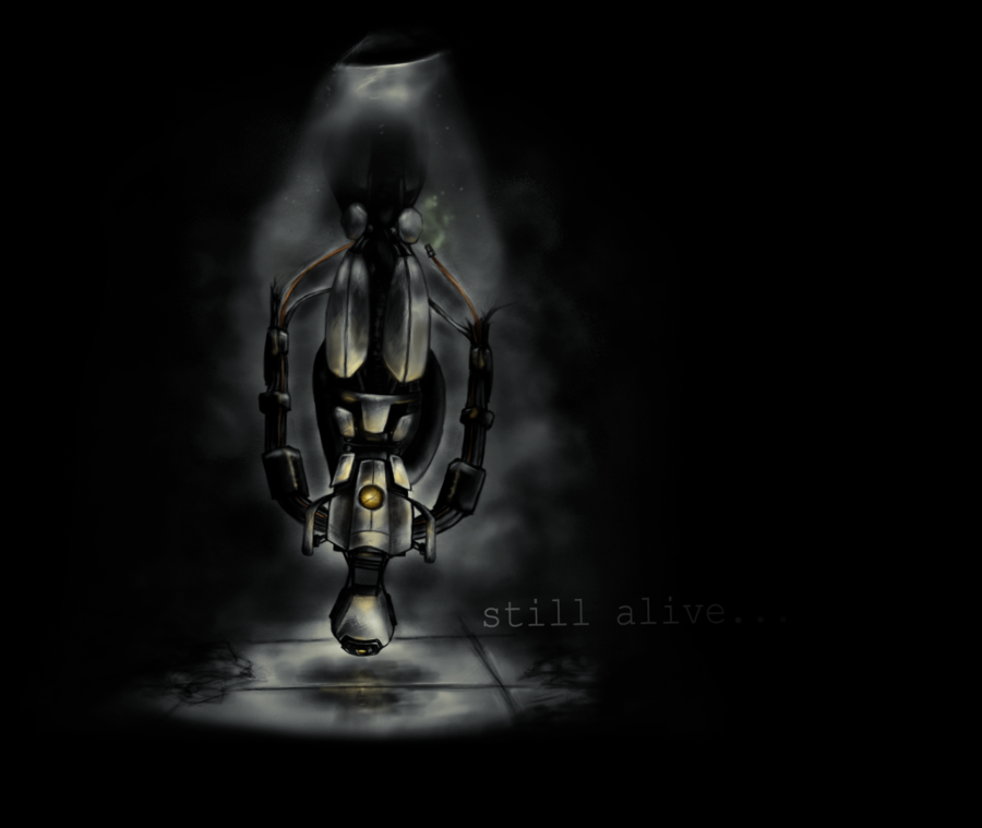 Still Alive [Wallpaper] by apinck12 900x759