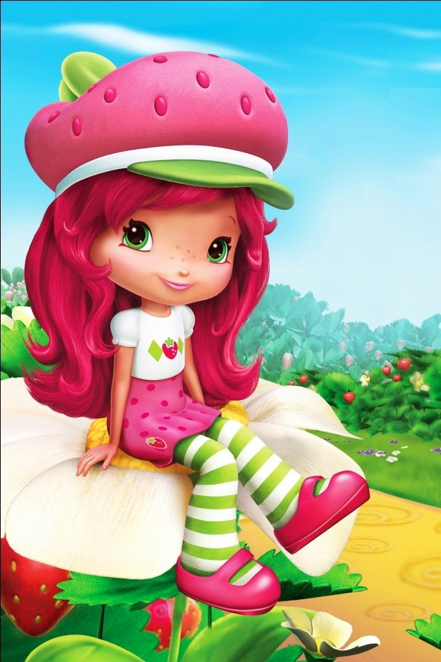 Strawberry Shortcake iPhone 4 Wallpaper and iPhone 4S Wallpaper 640x960