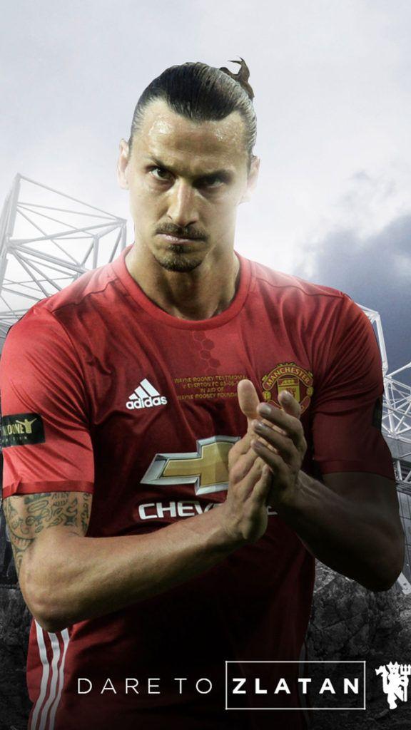 Zlatan Ibrahimovic Manchester United 20162017 Mobile Wallpaper 576x1024