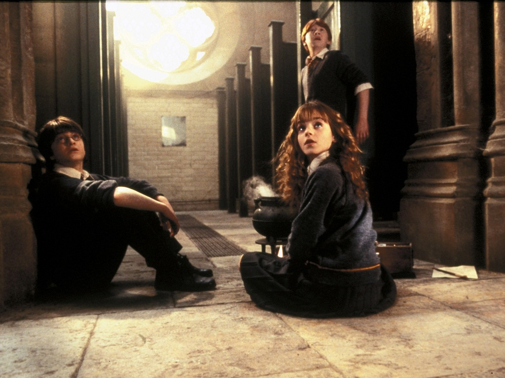 The movie   The Chamber of Secrets Wallpaper 31767724 1024x768