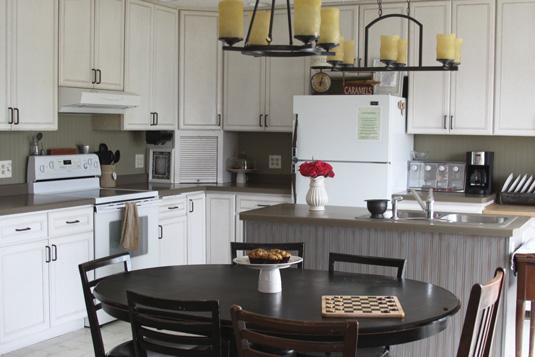 Kitchen Backsplash Using Beadboard Wallpaper  Transform Your Home On A 535x357