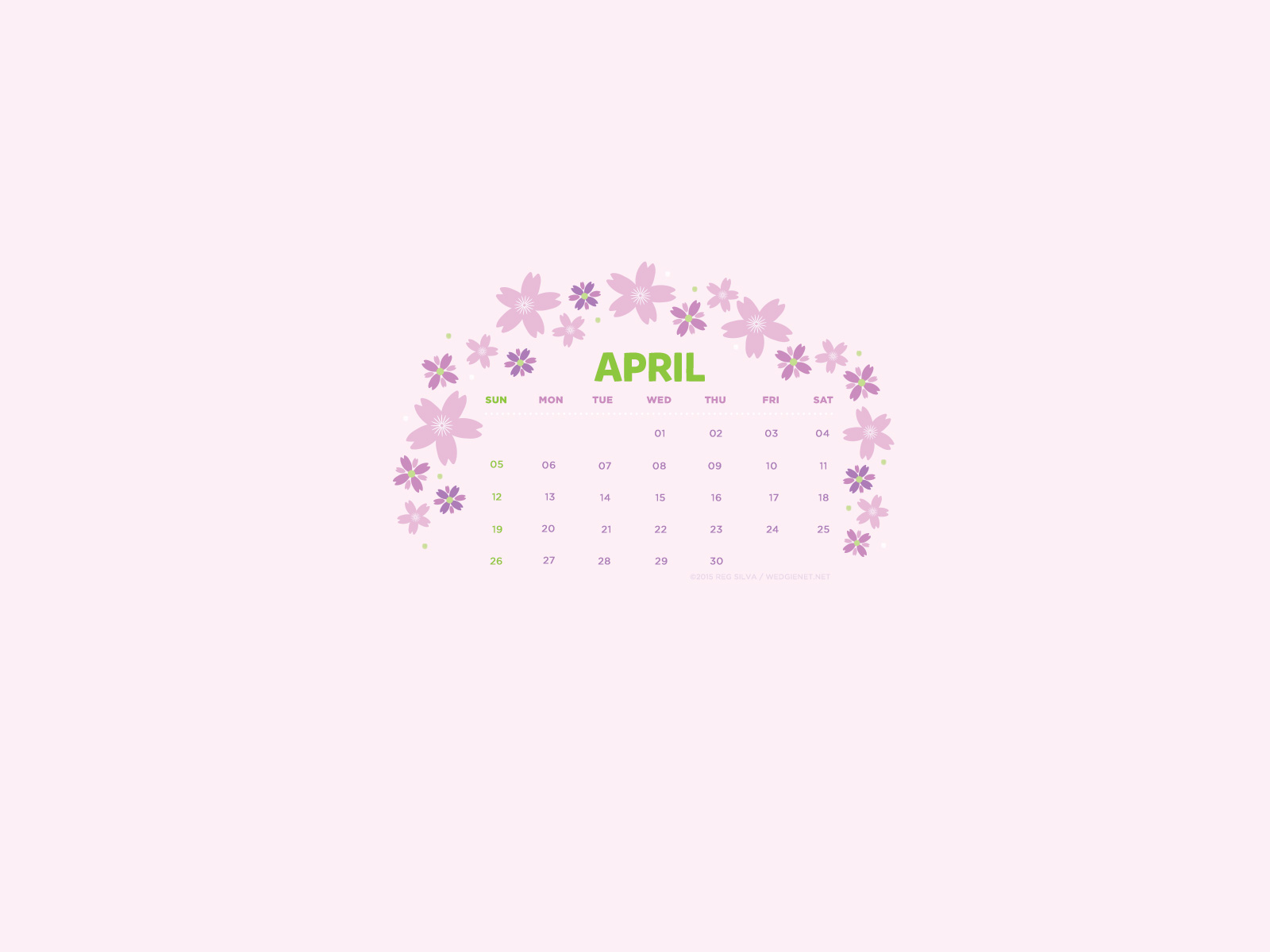 april 2015 desktop iphone ipad lock screen calendar wallpaper