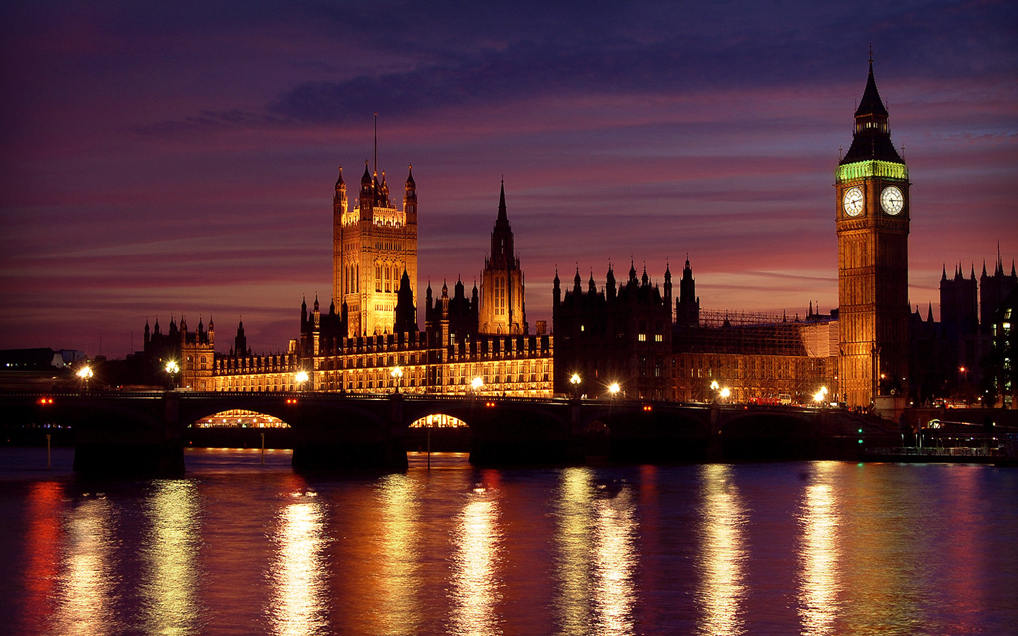 London at Night Wallpapers HD Wallpapers 1440x900