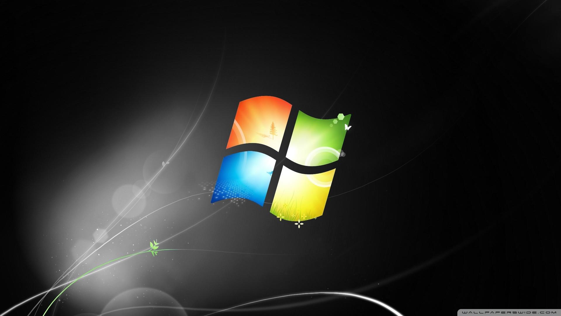 2 background images windows 7 - Windows 7s One Year Anniversary 2 Wallpaper 1920x1080 Windows 7s One