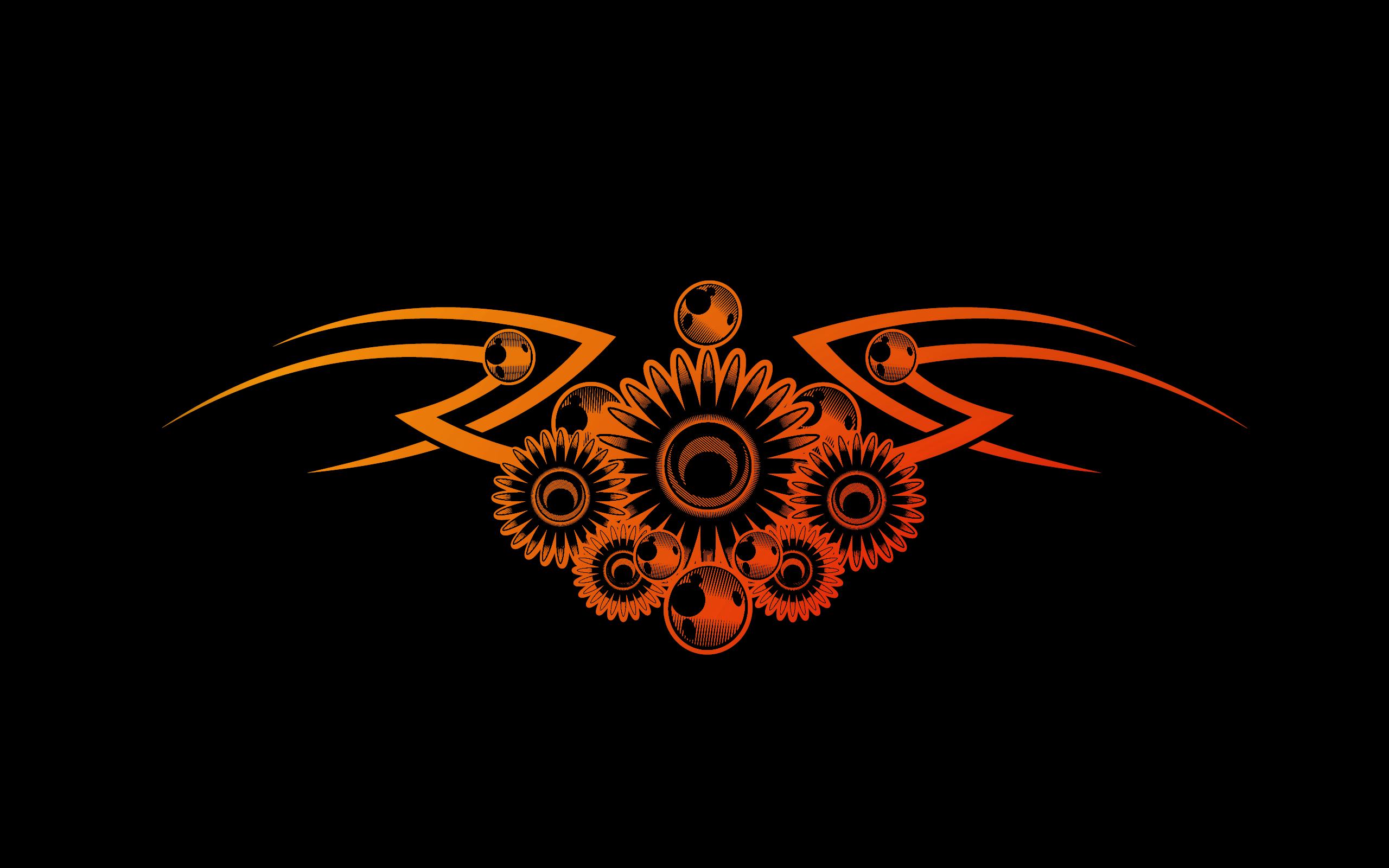 Pin Tribal Gear Wallpaper Desktop Background Lilzeu Tattoo De on 2560x1600