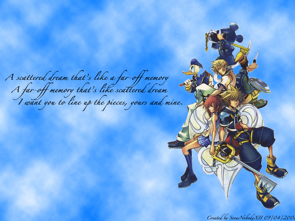 Kingdom Hearts 2 wallpapers Kingdom Hearts 2 background   Page 2 1024x768