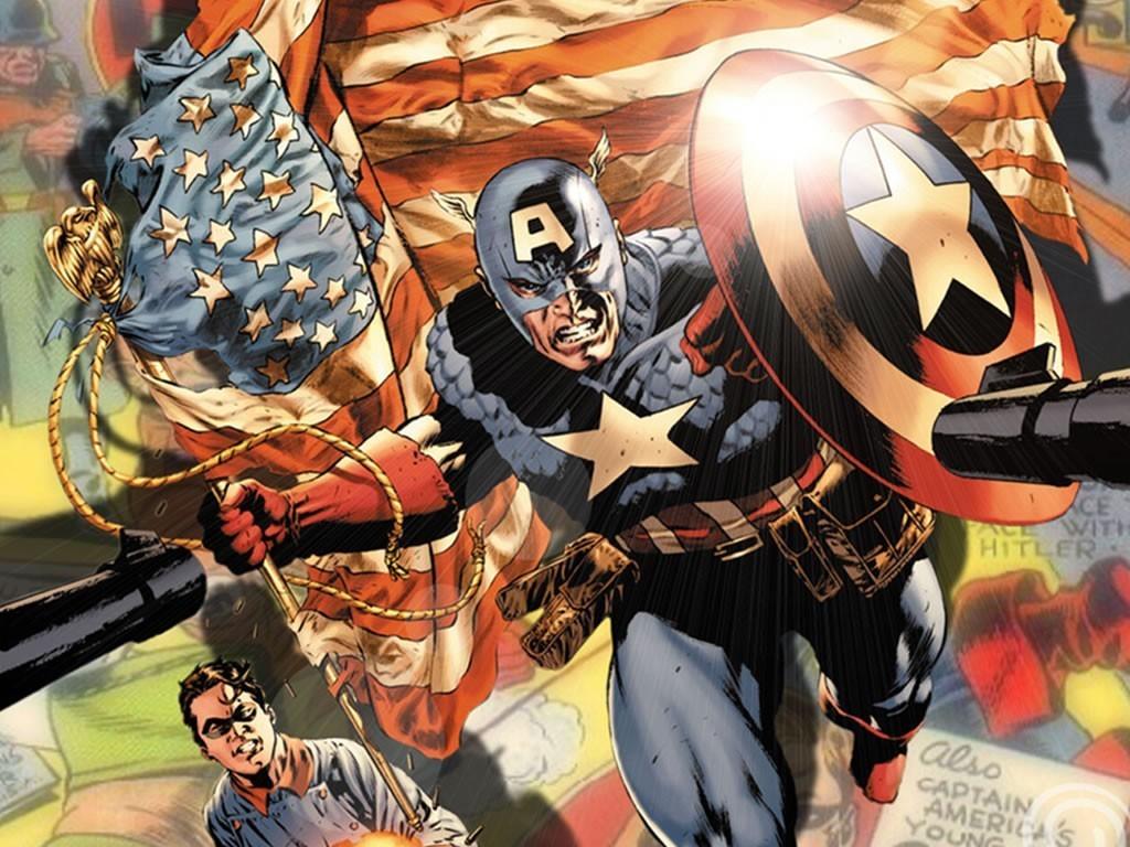 Captain America   Marvel Comics Wallpaper 15631220 1024x768