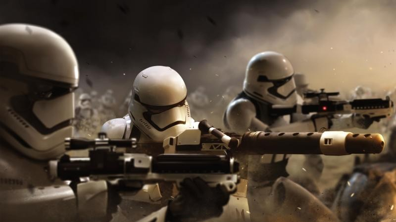 Name Stormtroopers Star Wars The Force Awakens Movie Wallpaper 800x450