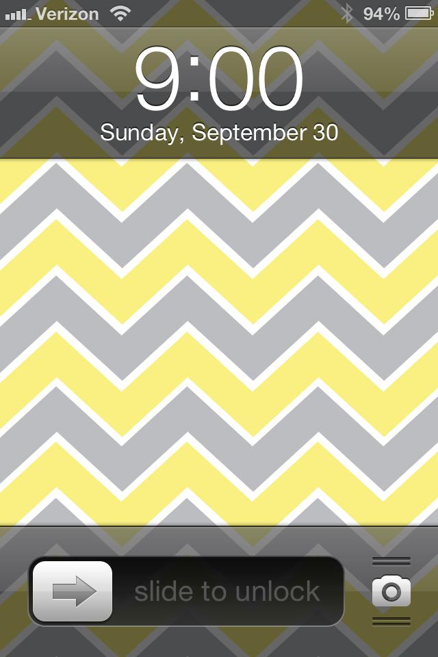 BackgroundsWallpapers ChevronPink Lime Gray Yellow Gray Orange 640x960