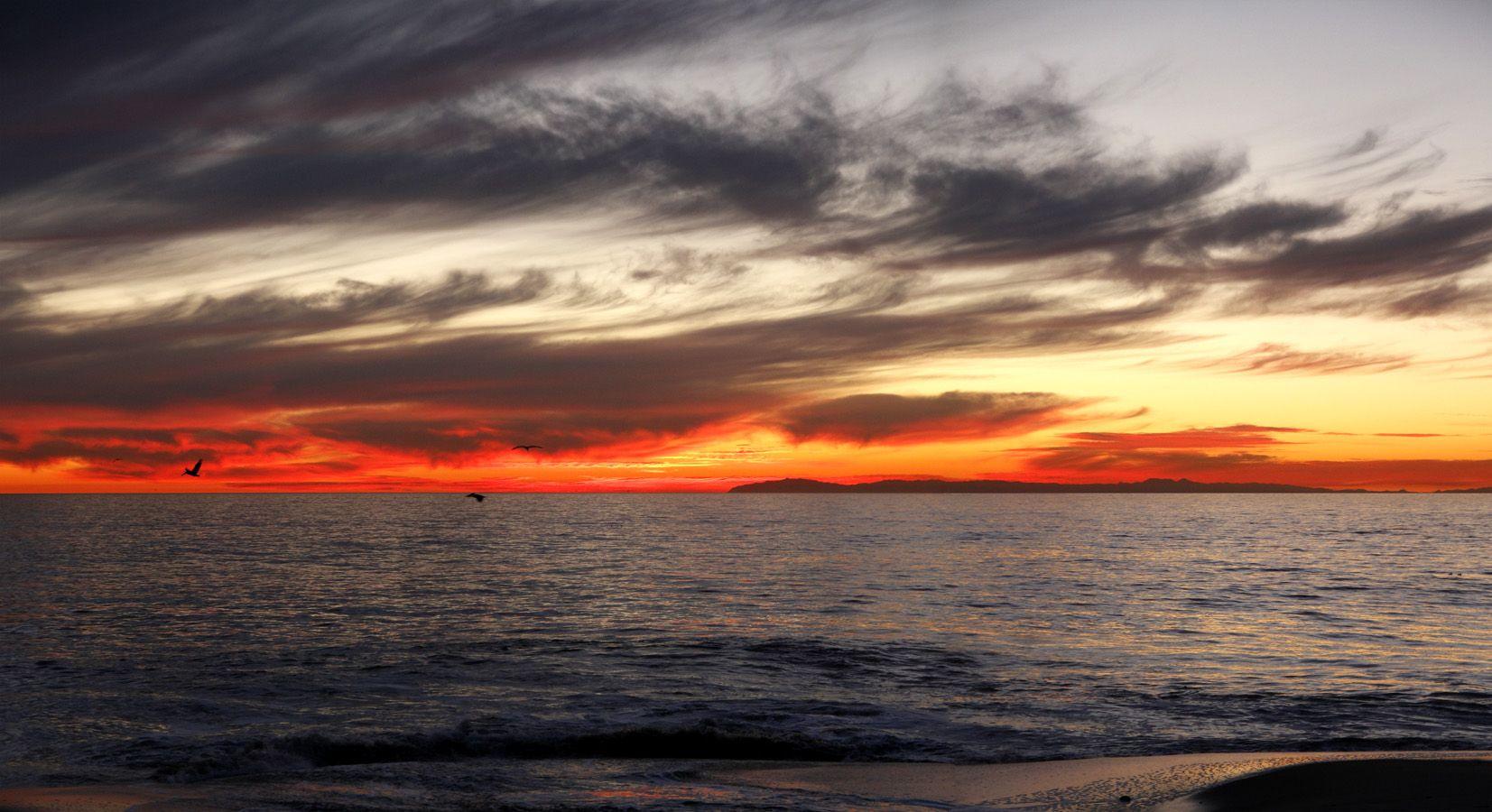 Laguna Beach Sunset Desktop Wallpaper Laguna Beach Sunset Picture Jpg 1653x900