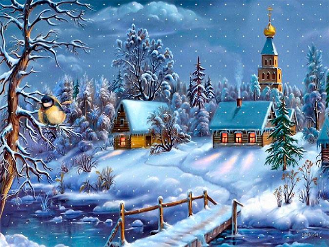 Christmas Village 674x506