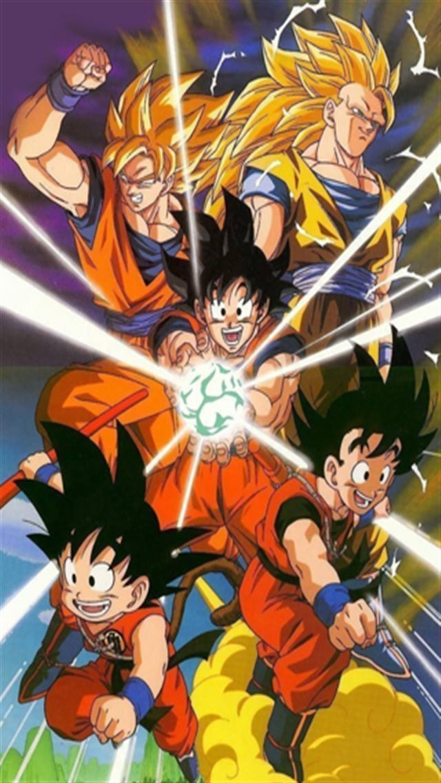 Dragon Ball Z Hd Iphone Wallpapers Iphone 5s4s3g Wallpapers 640x1136