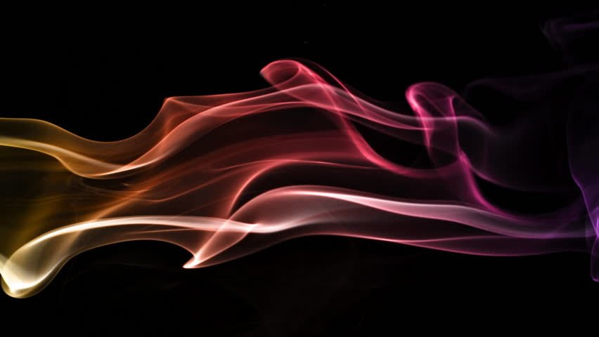 Abstract waving animation backgroundsmoke flowing   HD stock footage 852x480