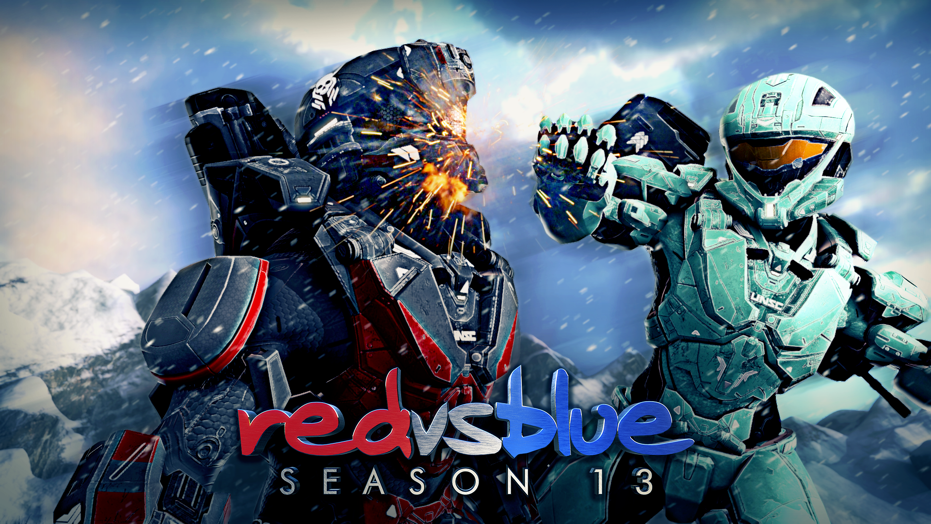 Free Download Hd Red Vs Blue Wallpapers 1920x1080 For Your