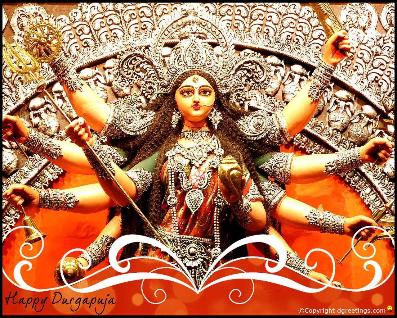 Durga Puja Hd Wallpaper: God Durga HD Wallpaper