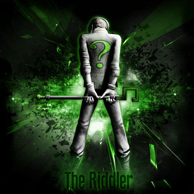 The Riddler Wallpaper Wallpaper the riddler by 650x650