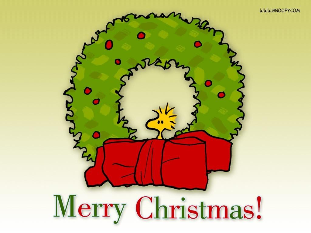 Peanuts   Christmas Wallpaper 437315 1024x768