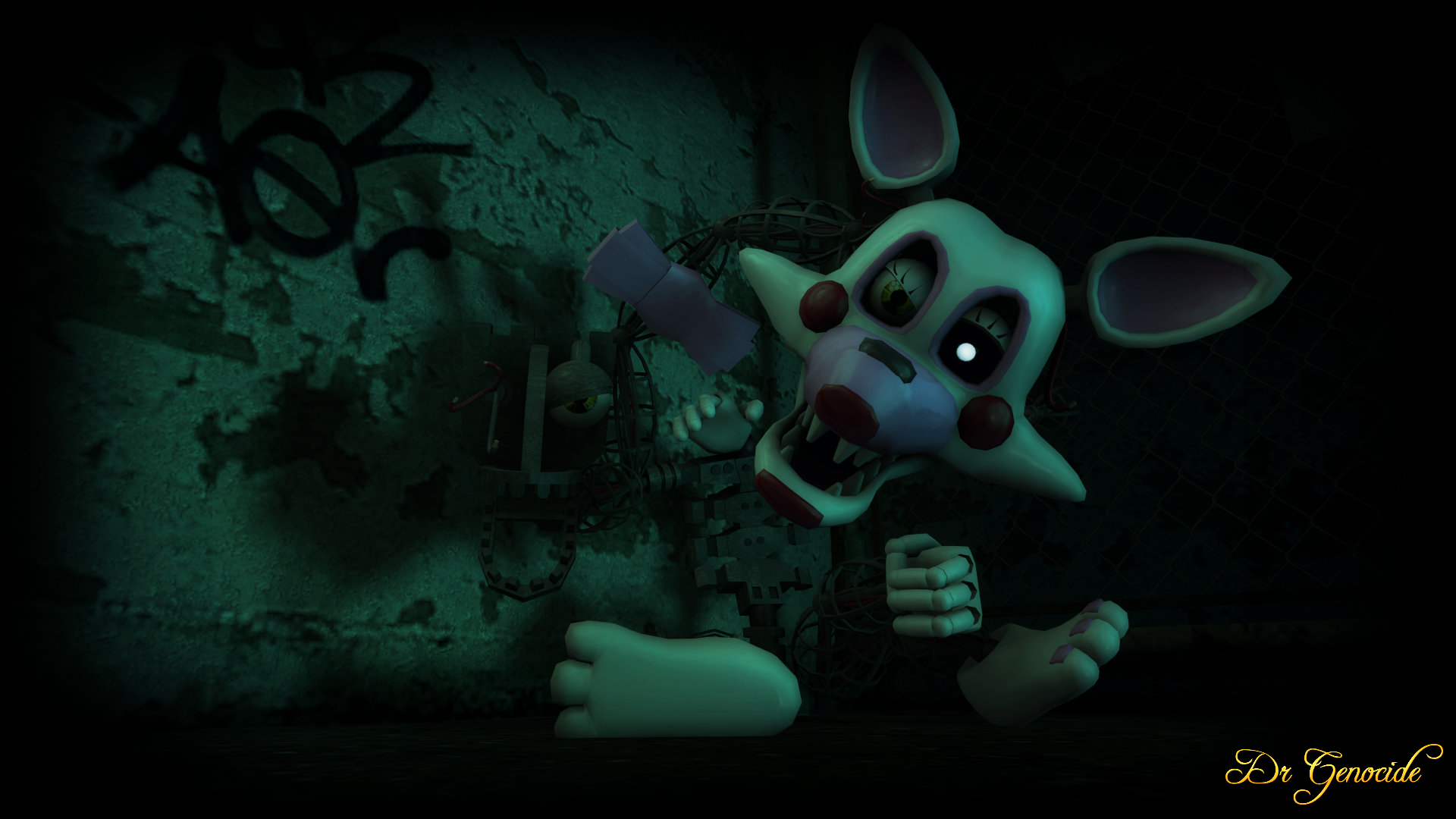 Free download FNAF 2 Mangle Wallpaper by DrGenocideSFM